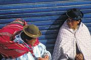 Bolivia, Lake Titicaca, Aymara tribe
